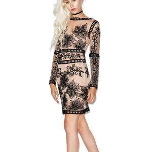 For love and lemons desert nights dress
